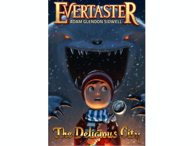 Evertaster: The Delicious City. Cover by Goro Fujita.