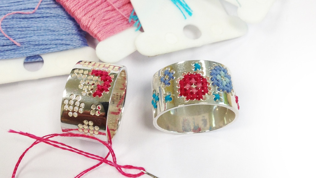 Embroidery ring project video thumbnail