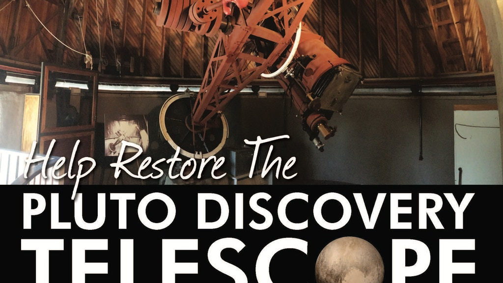 Restore the Pluto Discovery Telescope project video thumbnail