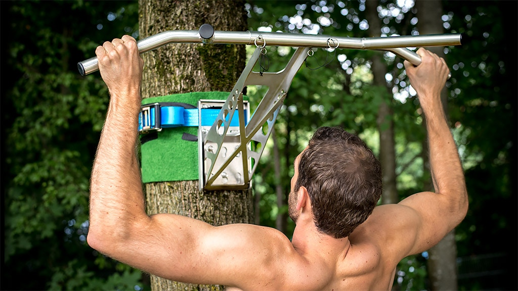 Pullup & Dip - work out wherever you want! project video thumbnail