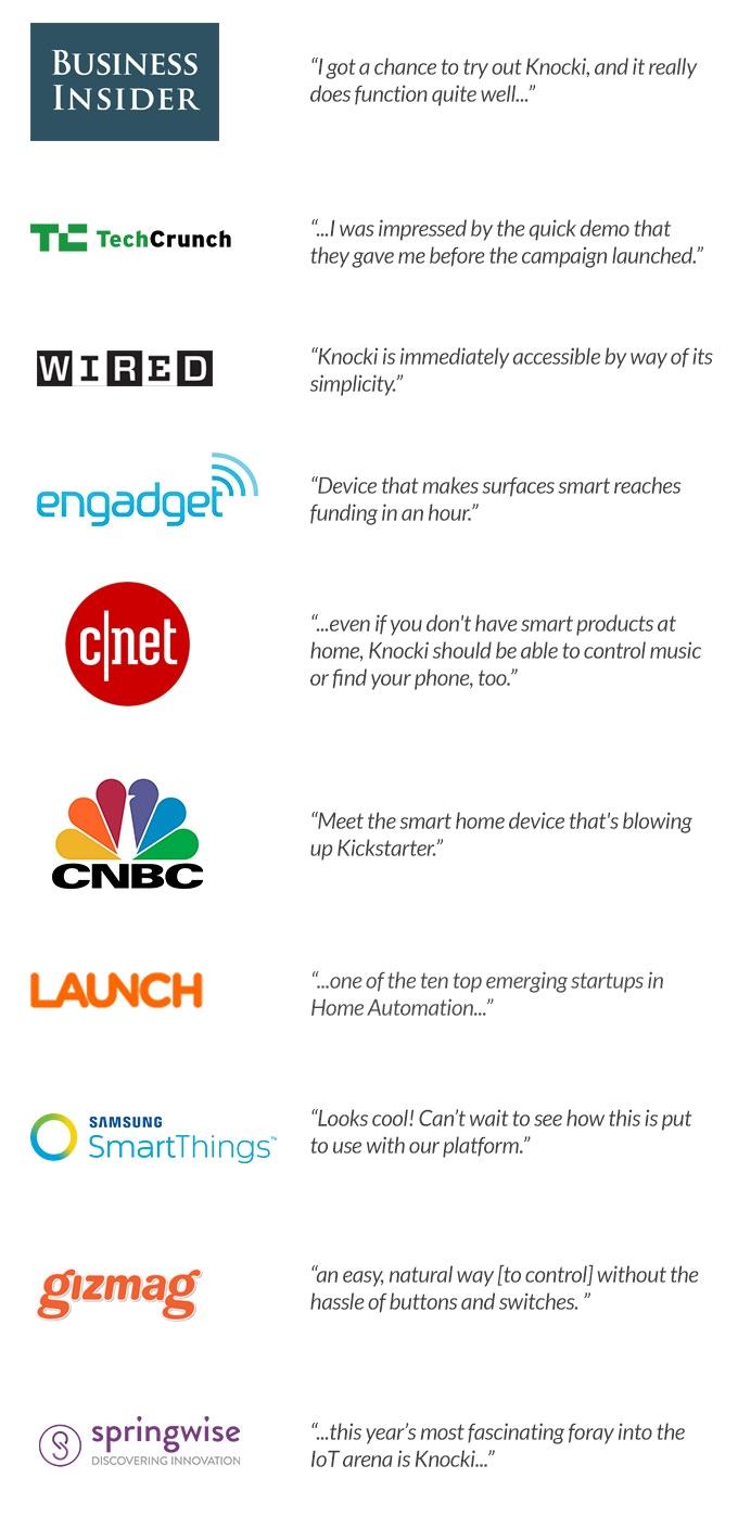 Knocki: Make Any Surface Smart by Knocki — Kickstarter