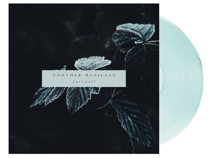 A mock up of what the vinyl might look like. Mind you, the cover art will be screen printed as will the B-side of the record. So this is just to get an idea!