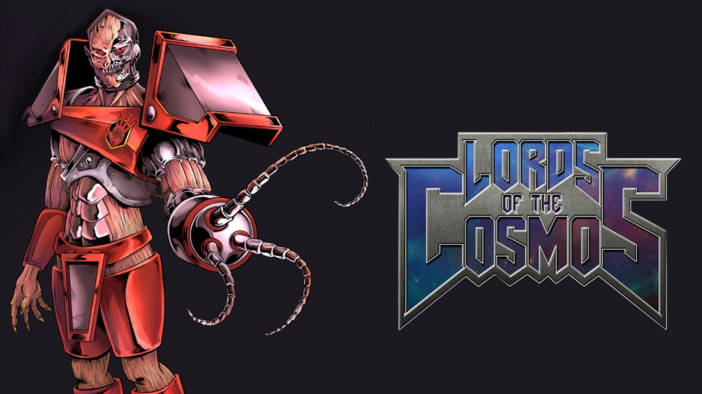 Lords Of The Cosmos Issue #1 - 1980's inspired comic book project video thumbnail