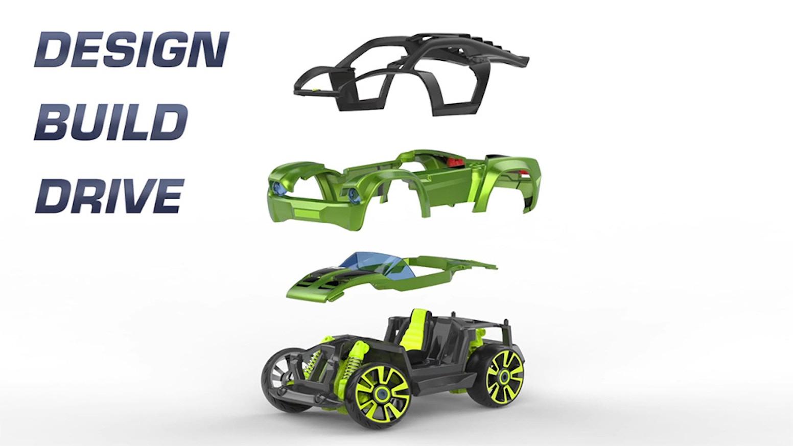 Get 2016 Family's Choice Award and Popular Science Best In Toy Fair Award winning play set. Modarri - Design, Build, Drive