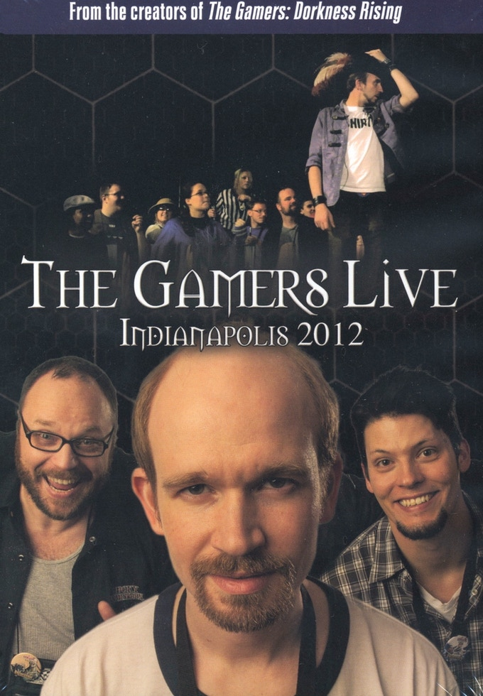 The Gamers Live 2012 DVD