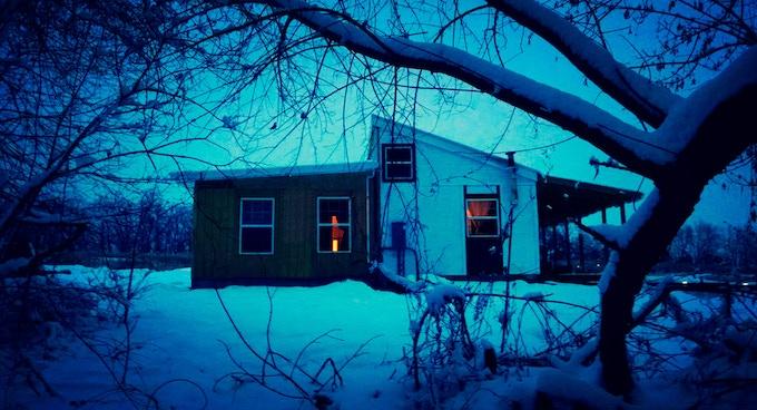 Modular farmhouse before the addition of the greenhouse - Factor e Farm (Missouri, US) - 2014