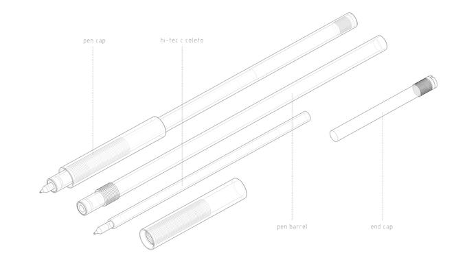 Pen Uno components