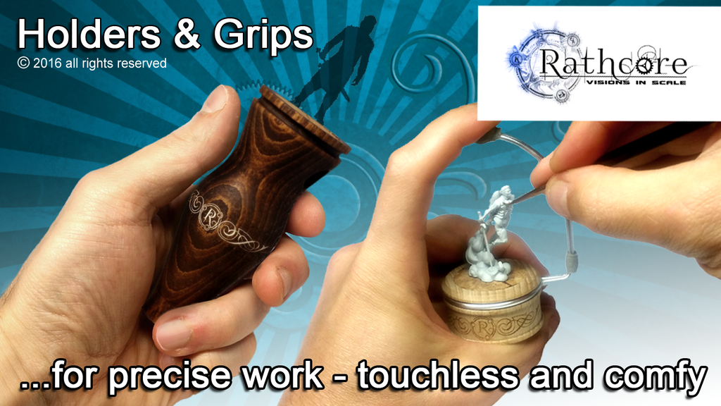 Miniature Holders & Grips for painting and sculpting project video thumbnail