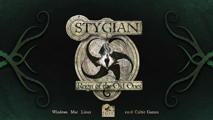 """Stygian: Reign of the Old Ones"" is a Lovecraftian computer roleplaying game of horror, loss and madness."