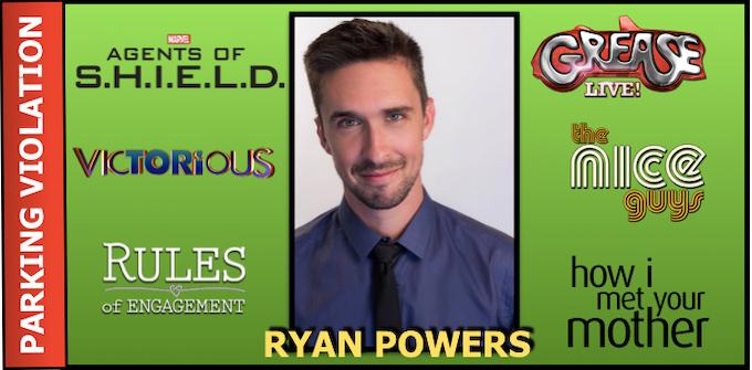 "RYAN POWERS - WRITER/PRODUCER/""HOWARD"""