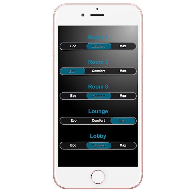 Manageable individual Wi-Fi signal range