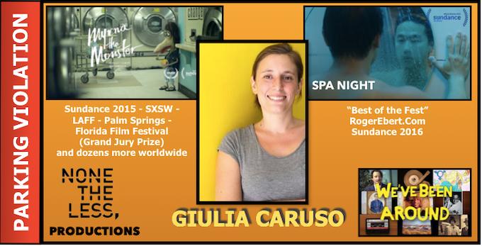 GIULIA CARUSO - PRODUCER/FIRST AD
