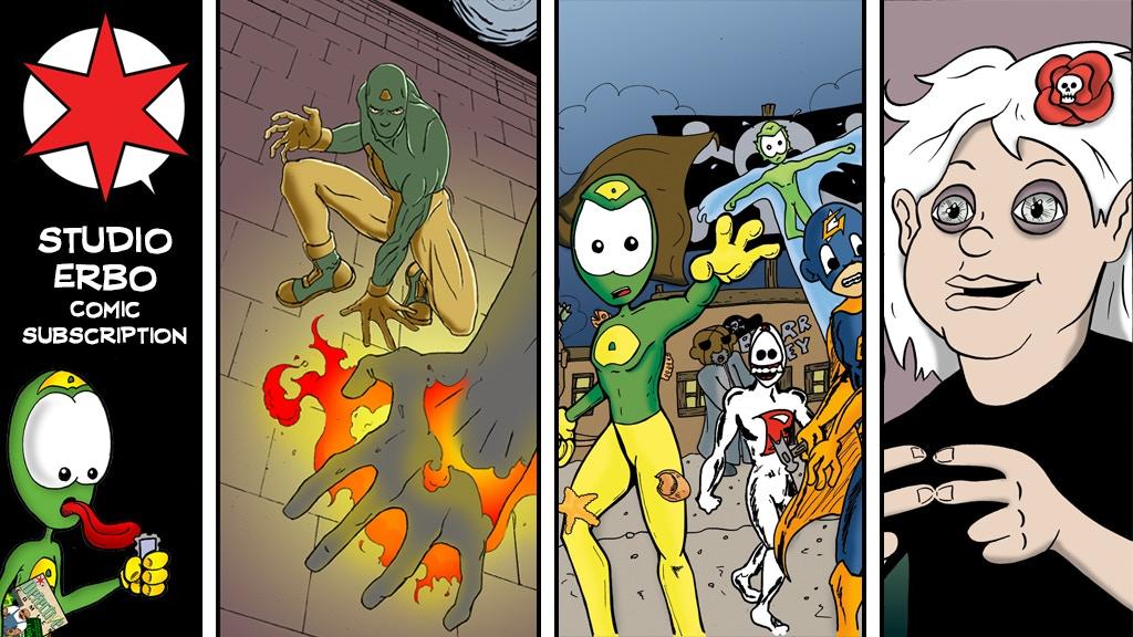 Studio Erbo (6 Comics) project video thumbnail