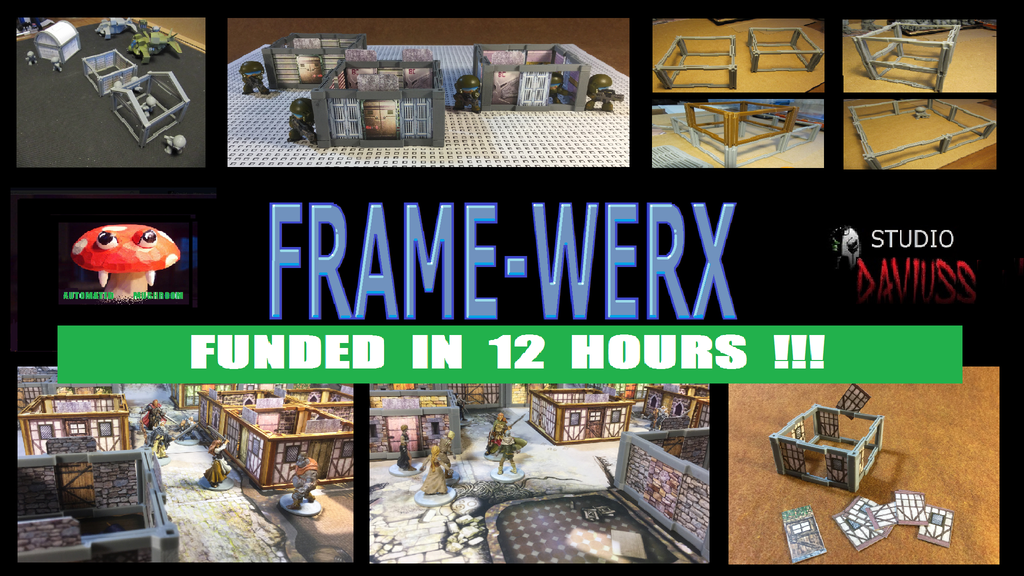 FRAME-WERX : AFFORDABLE MODULAR BUILDING/DUNGEON KIT FILES by David ...
