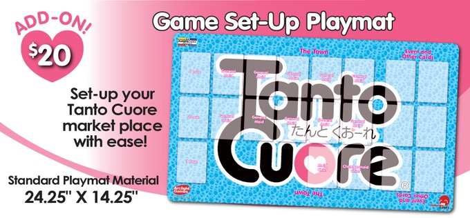 Tanto Cuore Card Game International Editions By Japanime