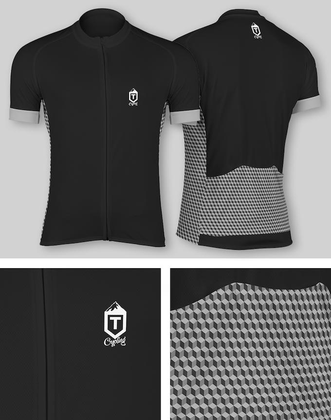 Isometric Jersey - Monochrome