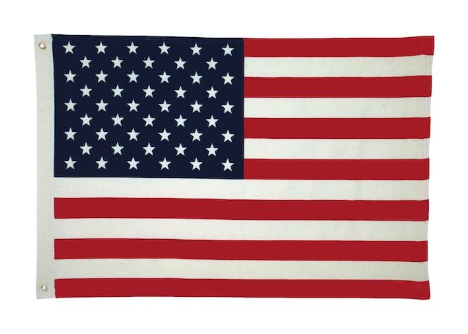 "Wool Flag Print - 24"" x 36"""