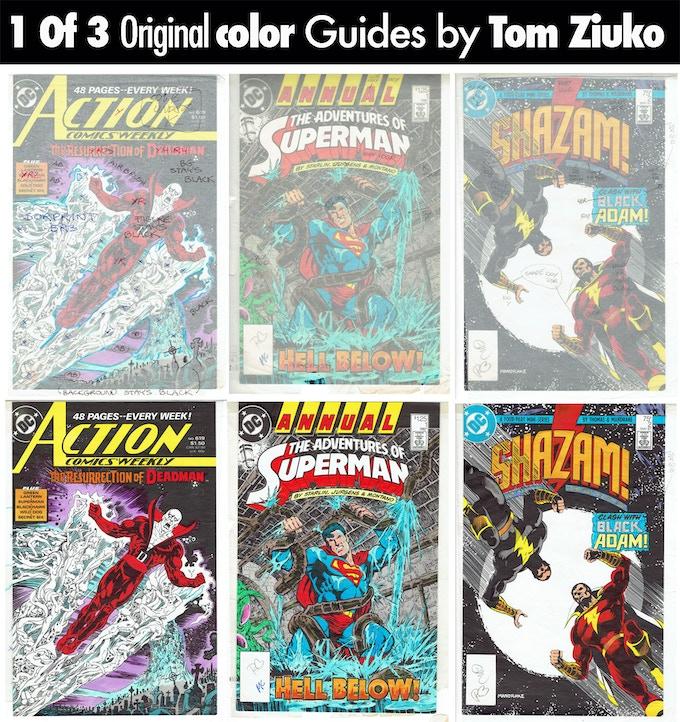 Tom Ziuko - DC Comics Color Guide Covers