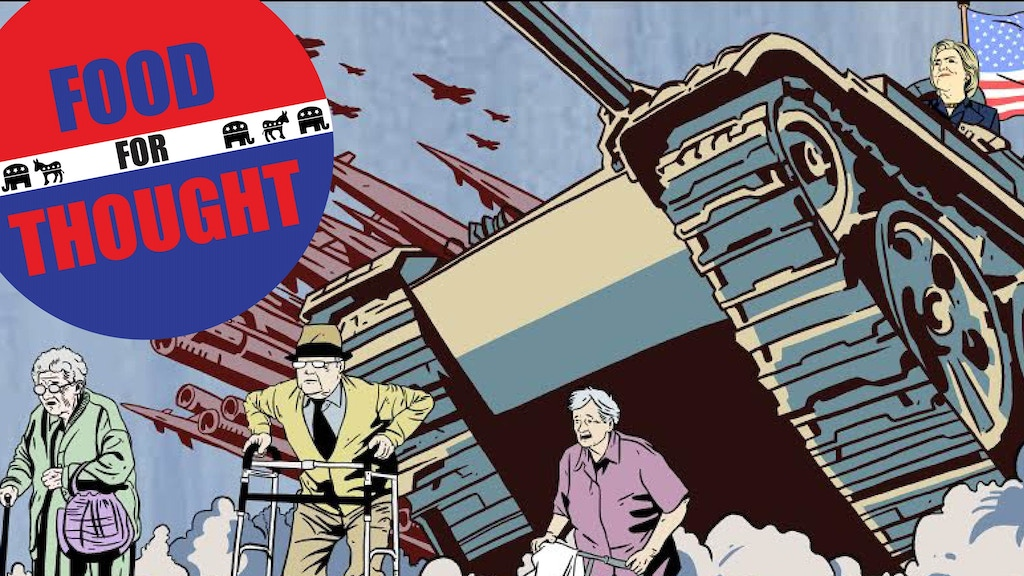 Food for Thought - 2016 Election Comic project video thumbnail