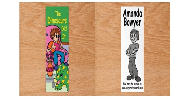 The Dinosaurs Did It Bookmark