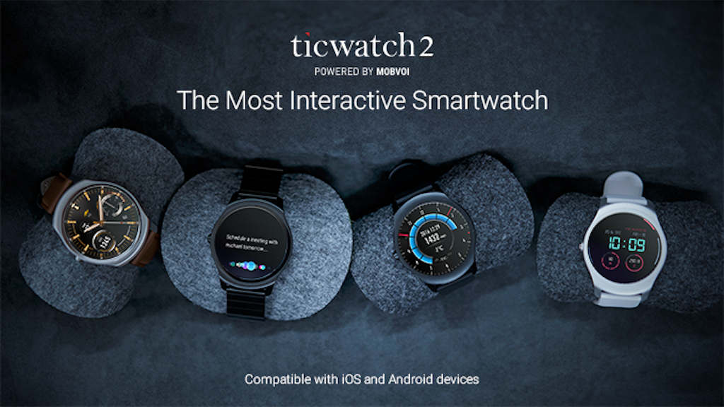 Ticwatch 2: The Most Interactive Smartwatch project video thumbnail