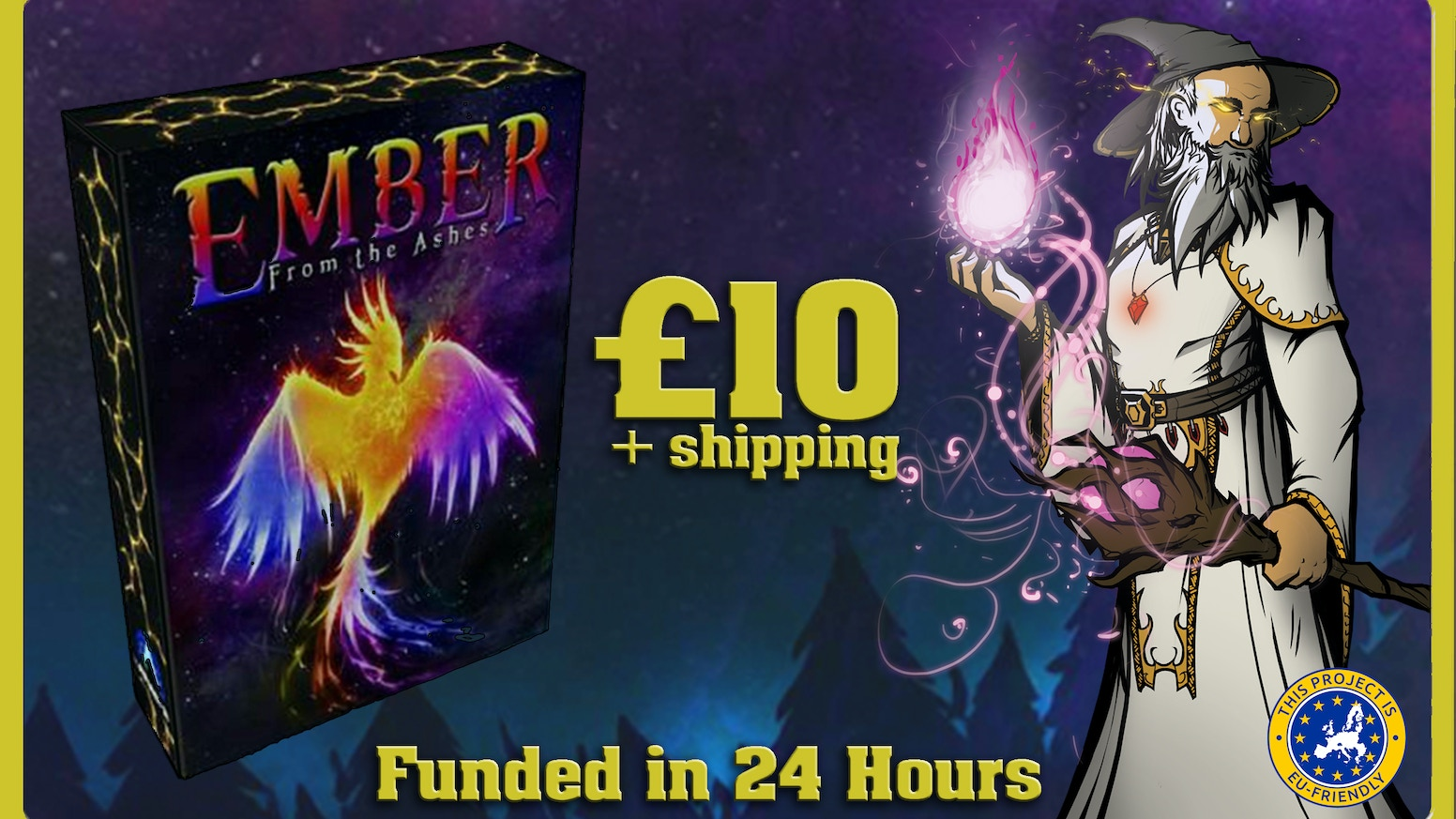 The standalone expansion to Ember: the Magical Card Game, containing 56 exciting cards and super low worldwide shipping.