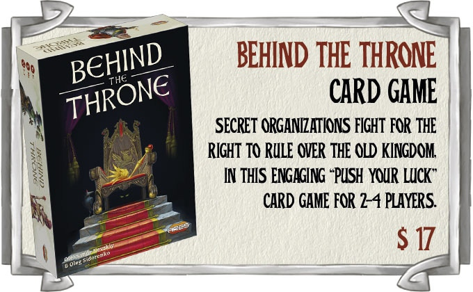Click on the image to visit the Behind the Throne product page on our website