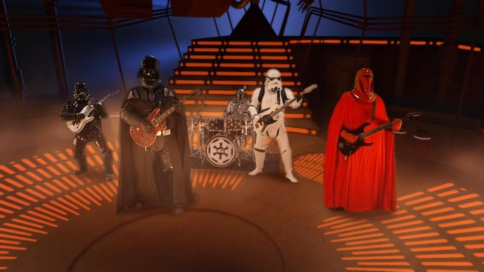 Join our Star Wars band in our quest to play live shows in support of our debut full-length album and together, we can rule the galaxy.
