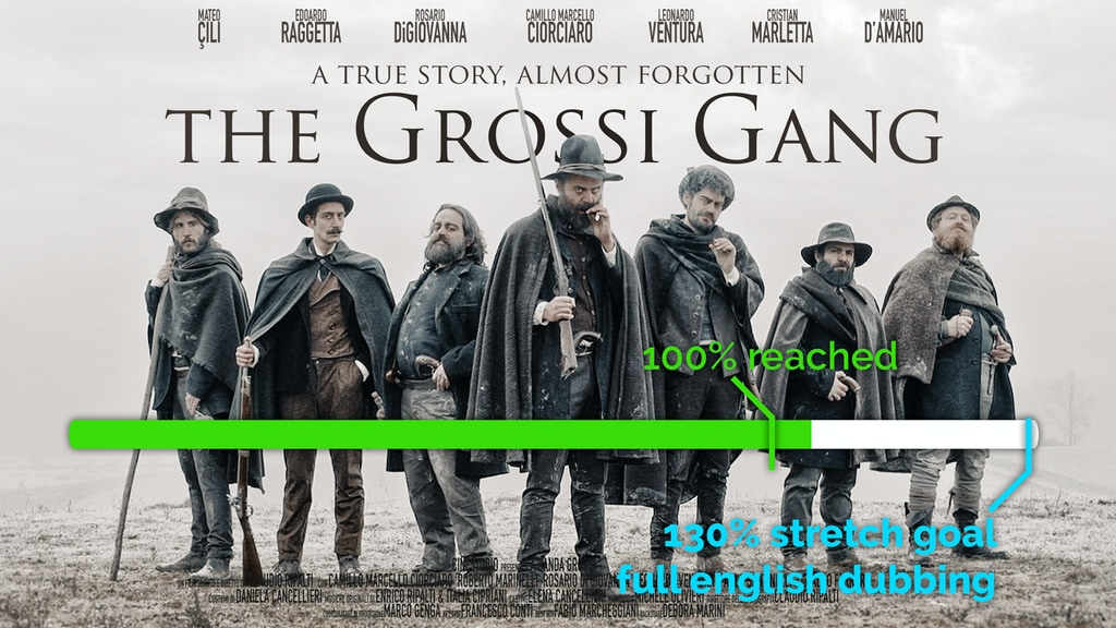 The Grossi Gang - Feature Film - La Banda Grossi project video thumbnail