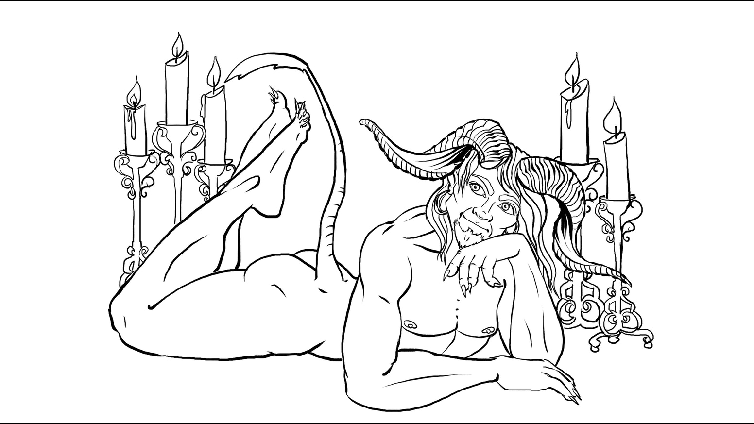 Coloring book html5 - Dungeons After Dark Is An Adult Coloring Book Of Fantasy Races And Creatures In Pin