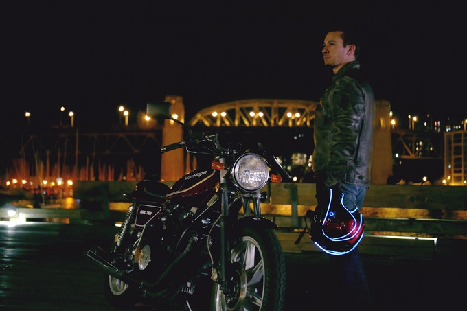Look badass during night rides.