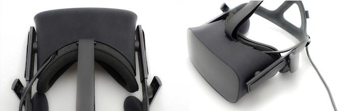 New Oculus Rift Facial Interface