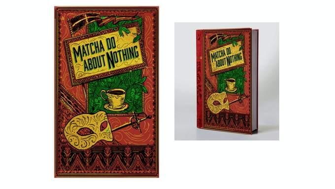 Matcha Do About Nothing artwork is at 25% - Come back for updates.