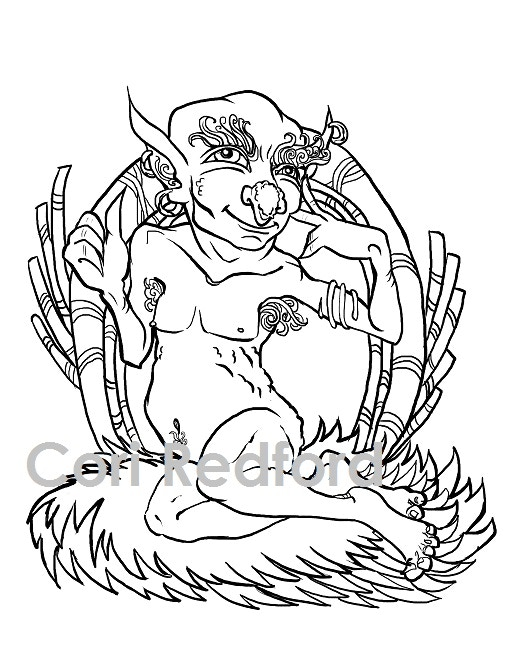 Dungeons After Dark - an adult fantasy pin-up coloring book by ...