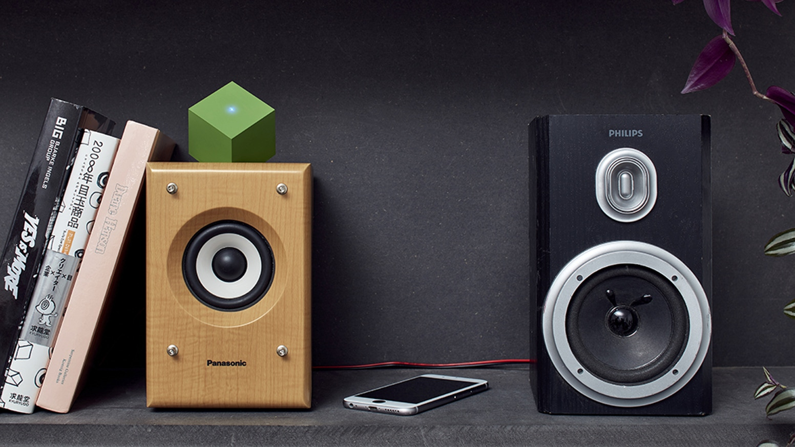 Bring back the sound to your own vintage speakers with The Vamp Stereo + The Vamp Speaker and lessen electronic waste.