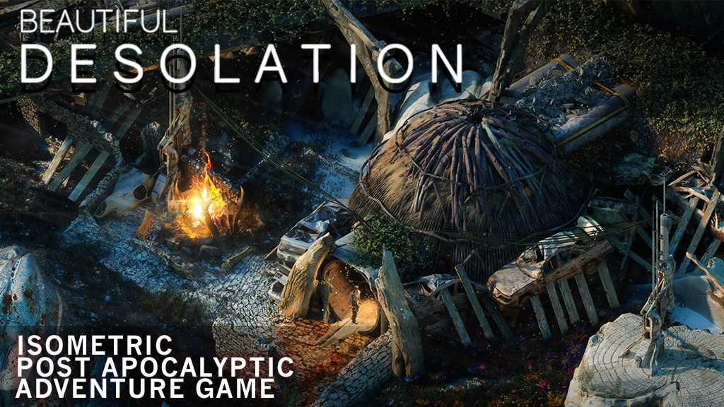 BEAUTIFUL DESOLATION - Isometric Post-apocalyptic Adventure project video thumbnail