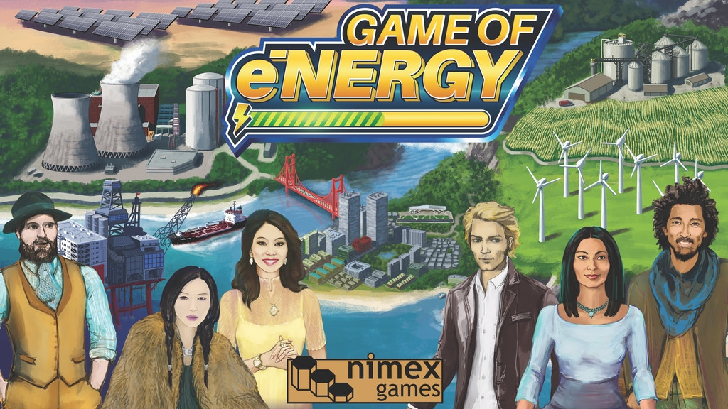 Game of Energy Board Game project video thumbnail