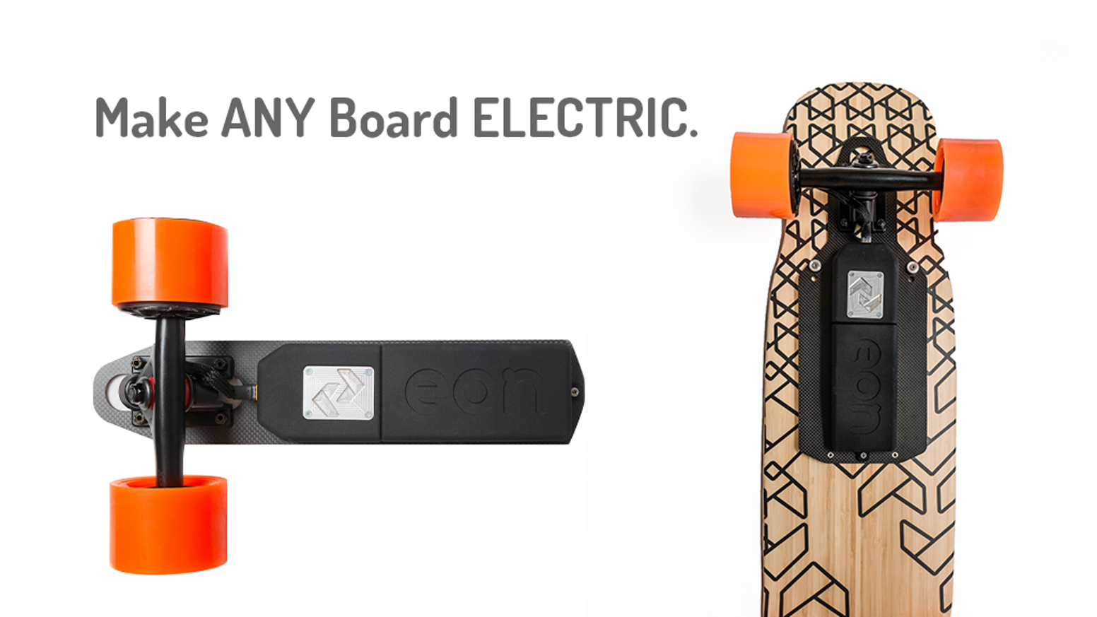 952dffd34ecef8 Convert any skateboard to electric in seconds with an ultra-light