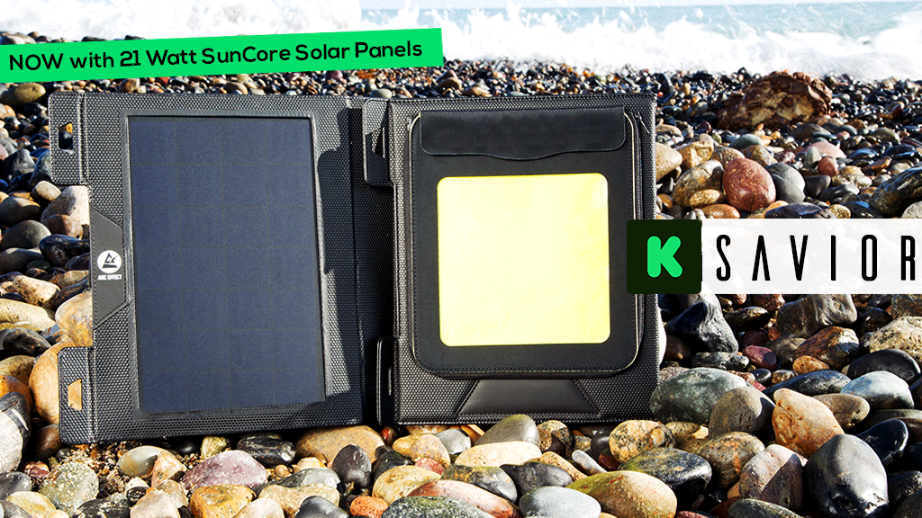 The Savior: Durable Waterproof Solar Charging System project video thumbnail