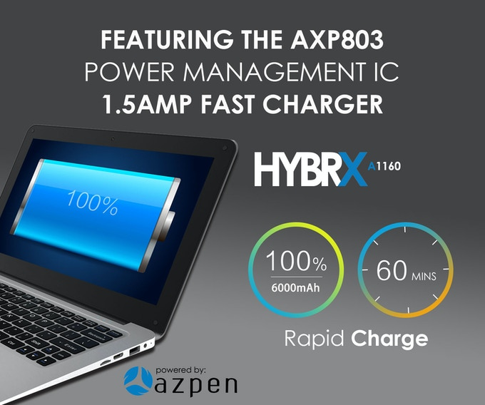 Azpen Hybrix with Fast Charge