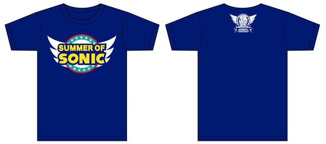 Summer of Sonic 2016 T-Shirt design