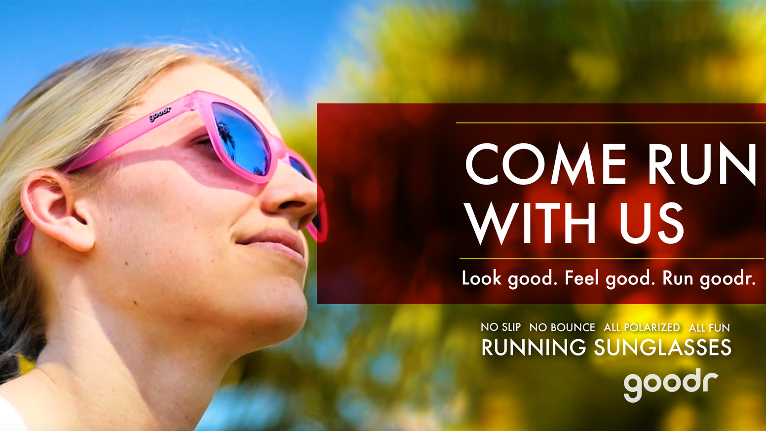 92d7d2cbfb goodr RUNNING SUNGLASSES by goodr — Kickstarter