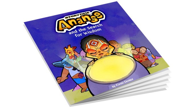 Ananse and the Search for Wisdom Storybook