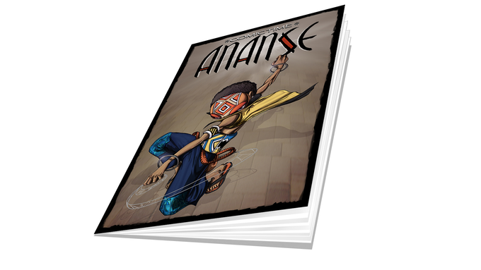 Ananse A5-sized Comicbook