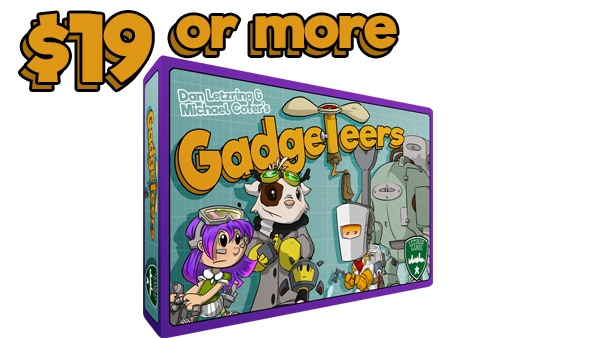 Gadgeteers including all unlocked stretch goals.