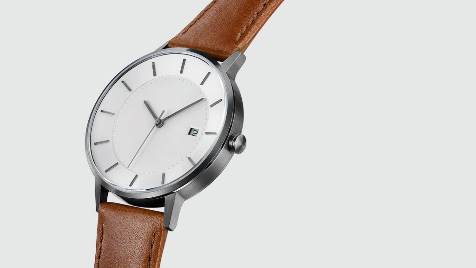 white minimalist review dress watch minimal classic by bonvier watches youtube