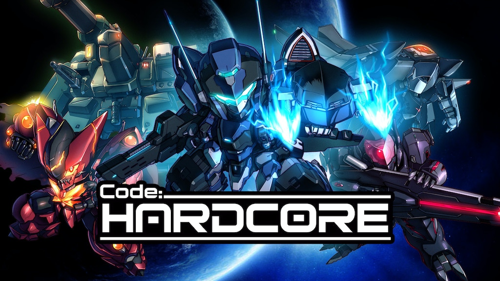 Code: HARDCORE - The Coolest 2D Mecha Battle Game project video thumbnail