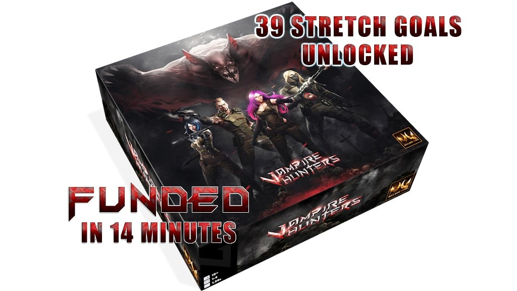Vampire Hunters by Dark Gate Games — Kickstarter