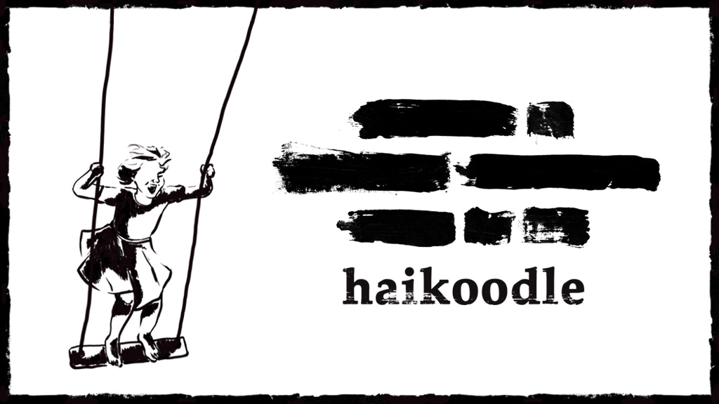 Haikoodle - A sweet little book of haiku and doodles project video thumbnail
