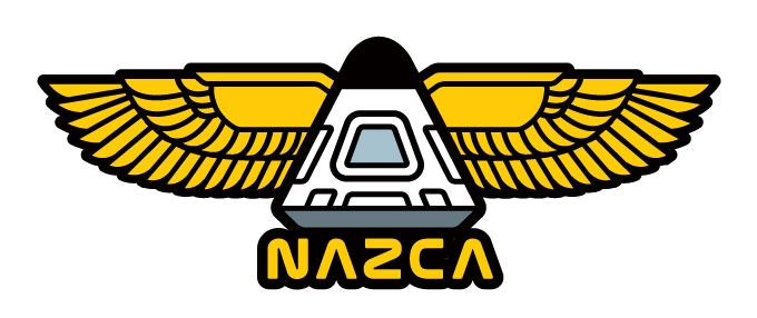 NAZCA Winged Capsule stretch goal #1 patch art